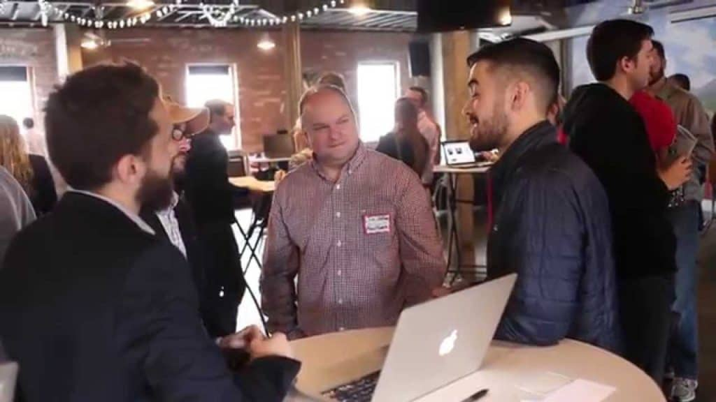 Devmountain's networking lunch video